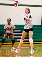 THS Volleyball Scrimmage Aug. 5 2011